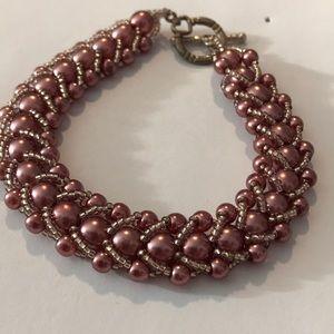 Jewelry - 3 for $15 purple beaded bracelet